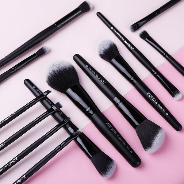 [variant_title] - ZOREYA Makeup Brushes 4/8/10/11/12/15pcs Professional Makeup Brush Set Many Different Model As Essential Cosmetics Tool