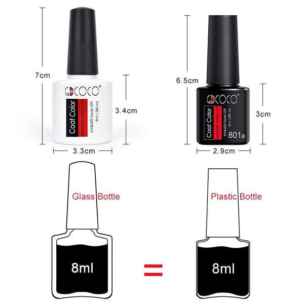 [variant_title] - #86102 GDCOCO 2019 New Arrival Primer Gel Varnish Soak Off UV LED Gel Nail Polish Base Coat No Wipe Top Color Gel Polish