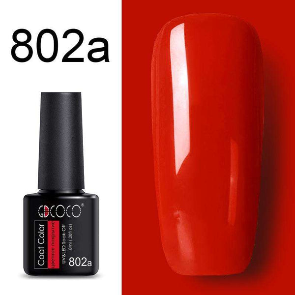 802a - #86102 GDCOCO 2019 New Arrival Primer Gel Varnish Soak Off UV LED Gel Nail Polish Base Coat No Wipe Top Color Gel Polish