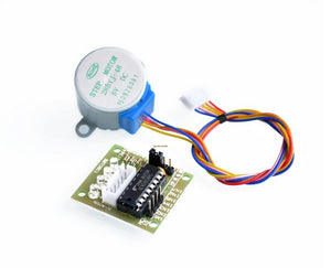 [variant_title] - 5V 4-Phase 28YBJ-48 DC Gear Step 1PCS Stepper Motor + 1PCS ULN2003 Driver Board ULN2003 For Arduino PIC MCU DIY