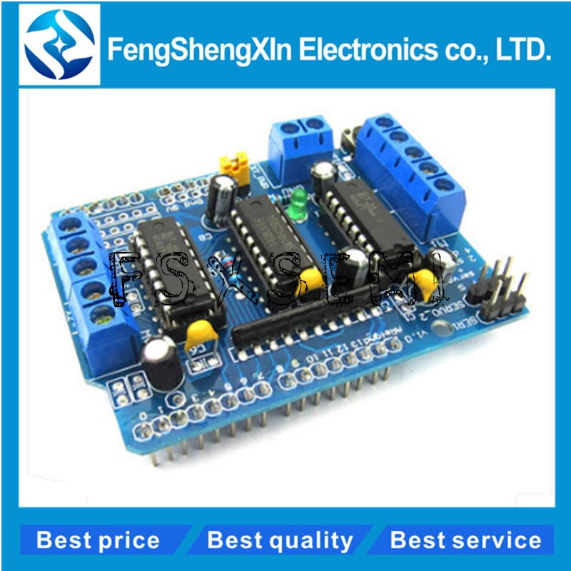 Default Title - L293D driver module motor control shield motor drive expansion board FOR Arduino motor shield