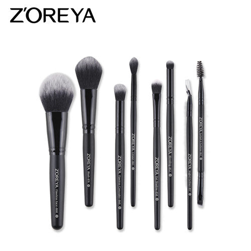 8pcs brush set - ZOREYA Makeup Brushes 4/8/10/11/12/15pcs Professional Makeup Brush Set Many Different Model As Essential Cosmetics Tool