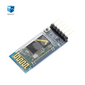5PCS Wireless Serial 6 Pin Bluetooth RF Transceiver Module HC-05 RS232