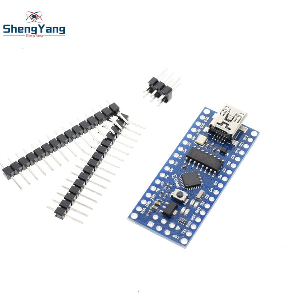 [variant_title] - 1PCS Mini USB With the bootloader Nano 3.0 controller compatible for arduino CH340 USB driver 16Mhz NANO V3.0 Atmega328 good