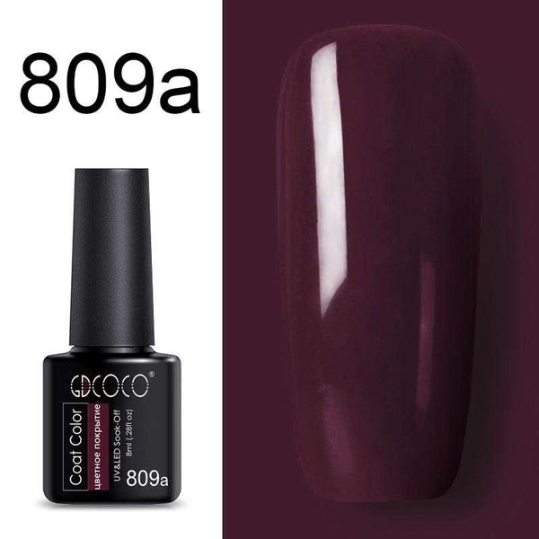 809a - #86102 GDCOCO 2019 New Arrival Primer Gel Varnish Soak Off UV LED Gel Nail Polish Base Coat No Wipe Top Color Gel Polish