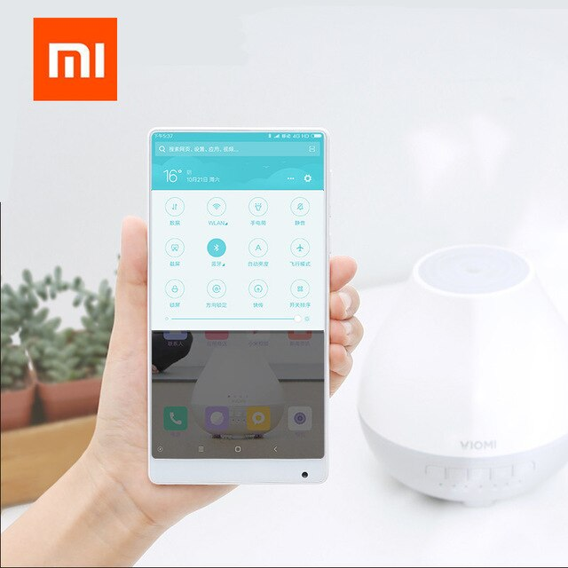 music version - Original xiaomi youpin Viomi Aromatherapy Machine Smart App Remote Control Music Speakers Air Humidifier Bluetooth led light New