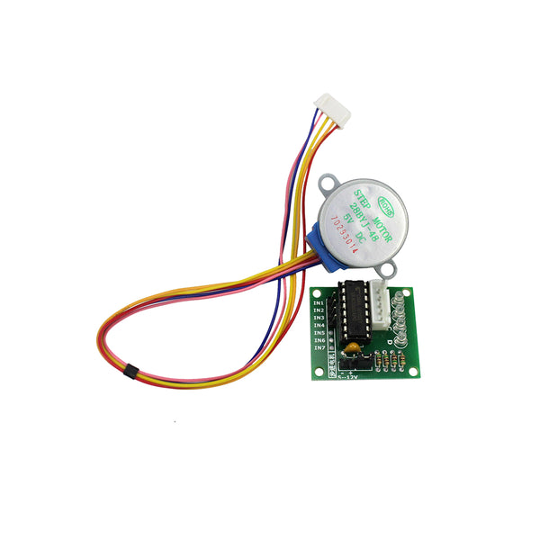 [variant_title] - Smart Electronics 28BYJ-48 5V 4 Phase DC Gear Stepper Motor + ULN2003 Driver Board for arduino DIY Kit