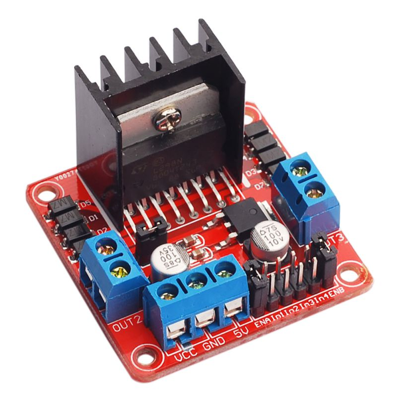 [variant_title] - New Electronic Component DC Stepper Motor by Step Drive Controller Board Module L298N for Arduino