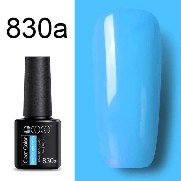 830a - #86102 GDCOCO 2019 New Arrival Primer Gel Varnish Soak Off UV LED Gel Nail Polish Base Coat No Wipe Top Color Gel Polish