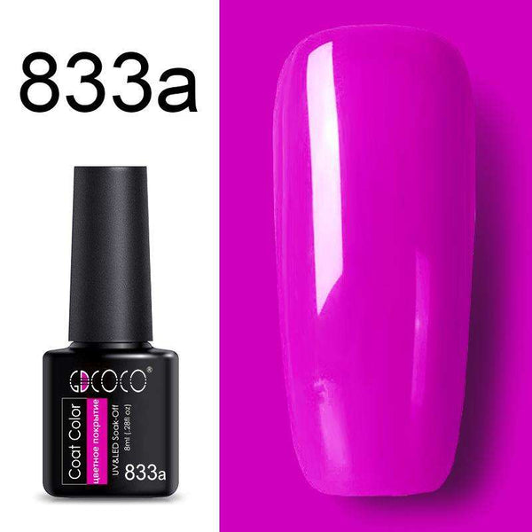 833a - #86102 GDCOCO 2019 New Arrival Primer Gel Varnish Soak Off UV LED Gel Nail Polish Base Coat No Wipe Top Color Gel Polish