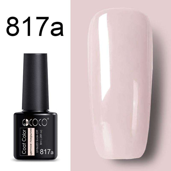 817a - #86102 GDCOCO 2019 New Arrival Primer Gel Varnish Soak Off UV LED Gel Nail Polish Base Coat No Wipe Top Color Gel Polish