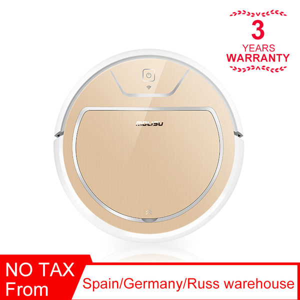 [variant_title] - ROBOT VACUUM CLEANER  350ML Electronic water tank 600ML dust box Intelligent navigation APP control Suction sweep Dry and wet