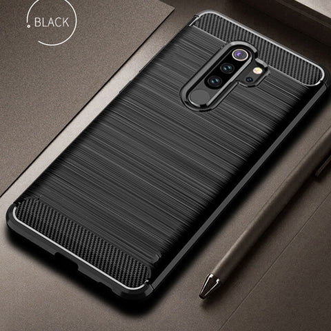 [variant_title] - For Xiaomi Redmi Note 8 Pro Case Carbon Fiber Cover 360 Full Protection Phone Case For Redmi Note 8 Cover Shockproof Bumper