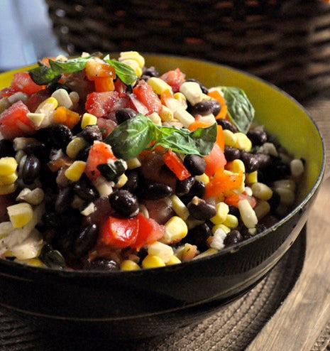 Black Bean and Corn Salad - hellyeahitsvegan.com