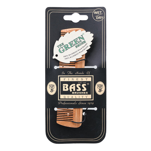 Bass Bamboo Brushes - Comb Pocket Size