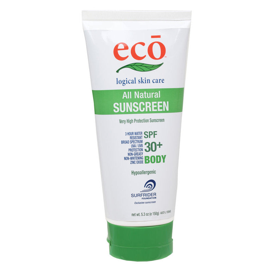 eco all natural sunscreen spf 30 body