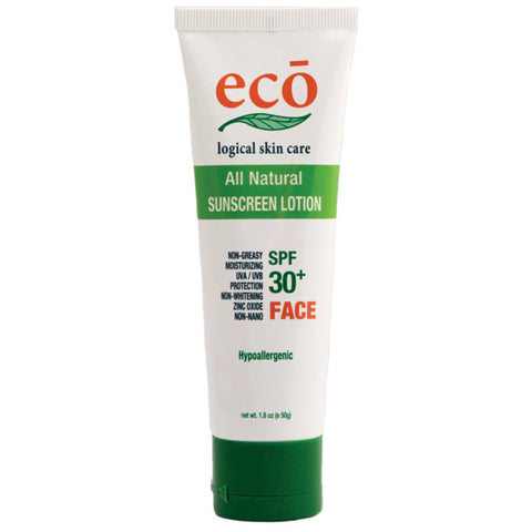 Eco All Natural Sunscreen SPF 30+ Face