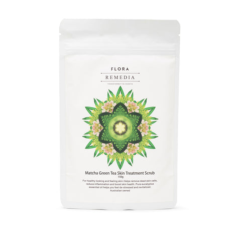 Flora Remedia Matcha Green Tea Skin Treatment Scrub