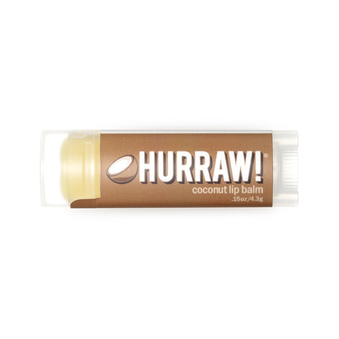 Hurraw! Lip Balm Coconut