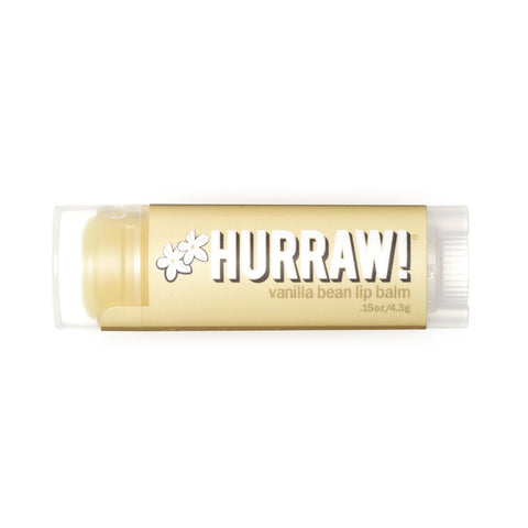 Hurraw! Lip Balm Vanilla Bean