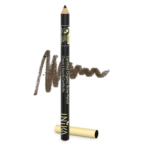 INIKA Certified Organic Brow Pencil Dark Brunette