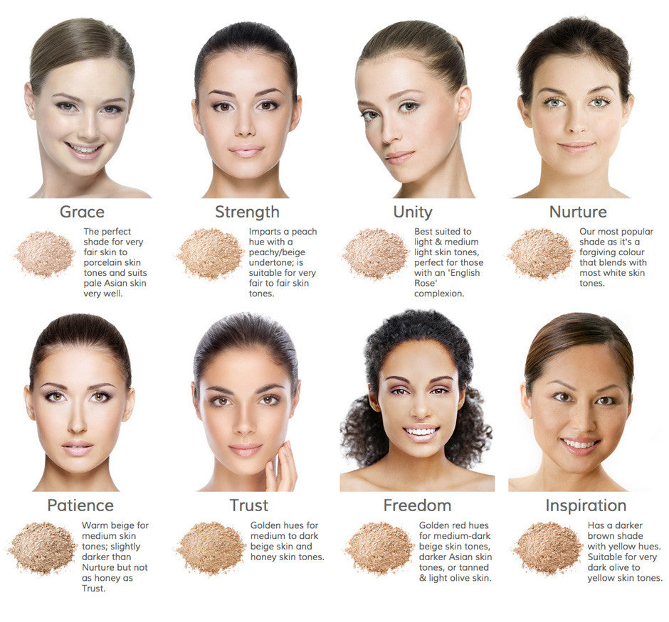Inika Baked Mineral Foundation Beautiful Because