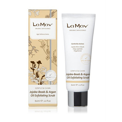 La Mav Jojoba-Beads & Argan Oil Exfoliating Scrub