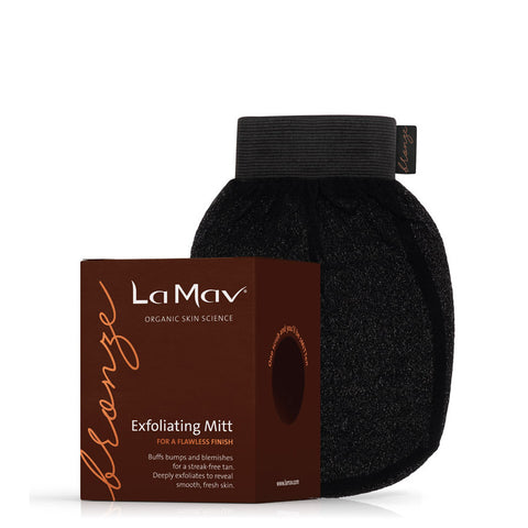 La Mav Body Bronze - Exfoliating Mitt