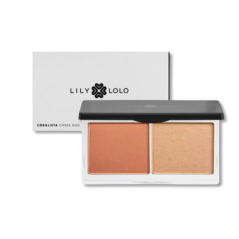 Lily Lolo Cheek Duo - Coralista