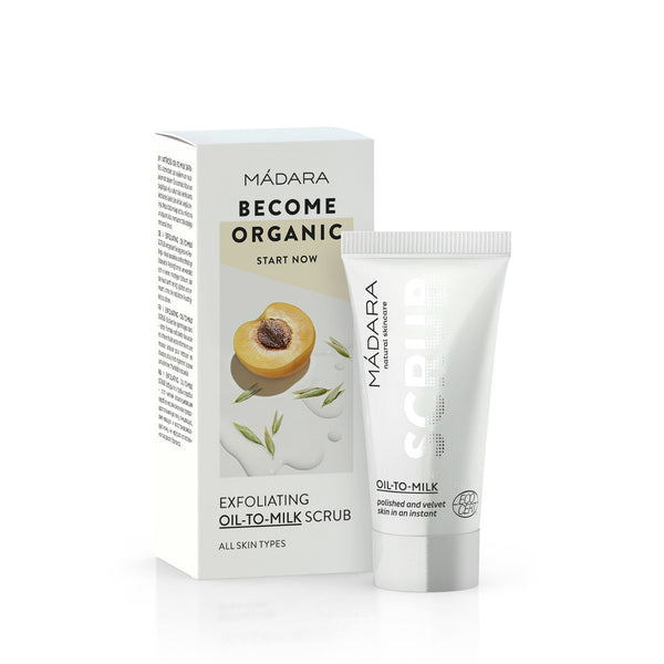 MADARA Exfoliating Oil-To-Milk Scrub Trial