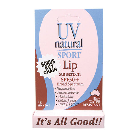 UV Natural Lip Sunscreen SPF30+