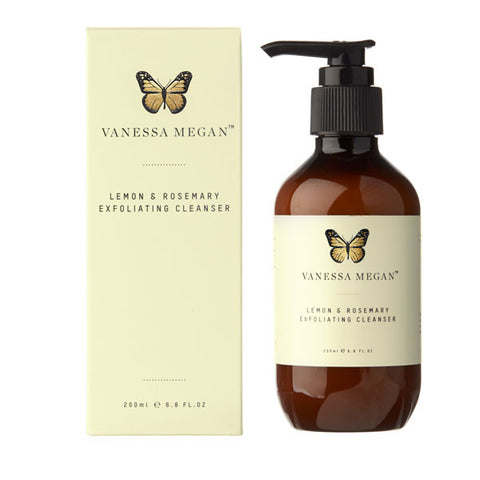 Vanessa Megan Lemon & Rosemary Exfoliating Cleanser