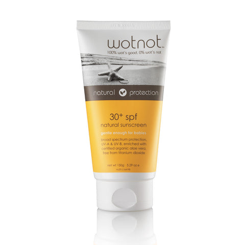 WOTNOT Natural Sunscreen SPF 30