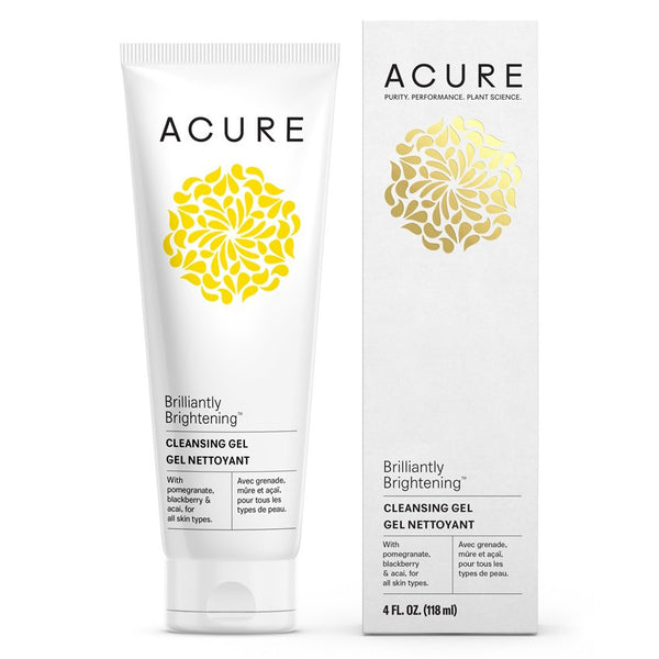 Acure Brilliantly Brightening Cleansing Gel 118ml
