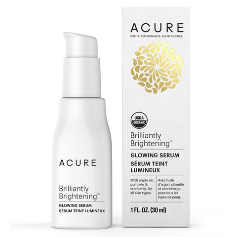 Acure Brilliantly Brightening Glowing Serum 30ml