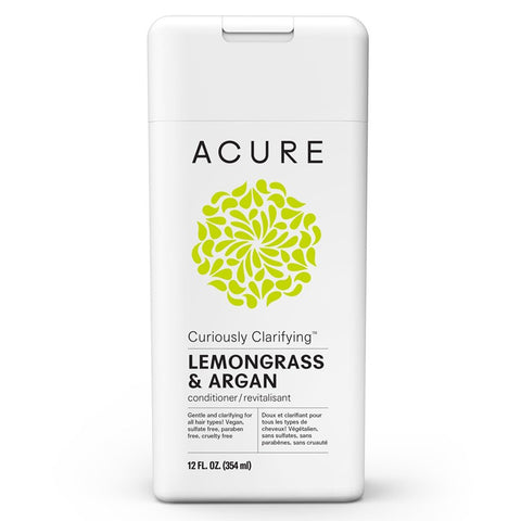 Acure Curiously Clarifying Conditioner - Lemongrass 354ml
