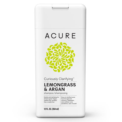 Acure Curiously Clarifying Shampoo - Lemongrass 354ml