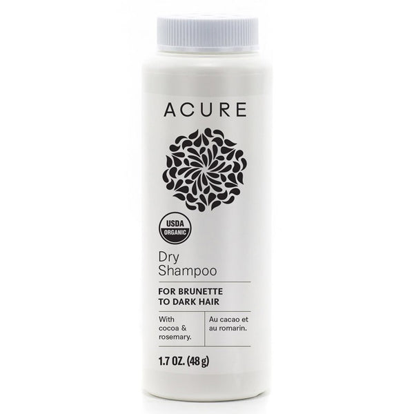 Acure Dry Shampoo - Brunette to Dark Hair Types 48g