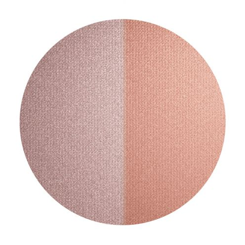 INIKA Baked Mineral Blush Duo Pink Tickle swatch