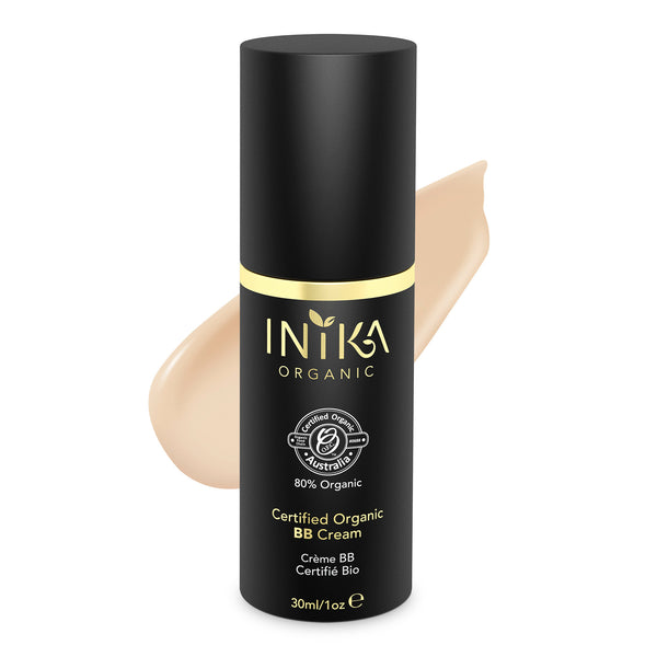 INIKA Certified Organic BB Cream Foundation Nude