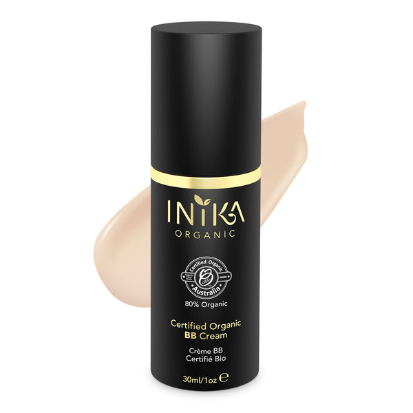 INIKA Certified Organic BB Cream Foundation Porcelain