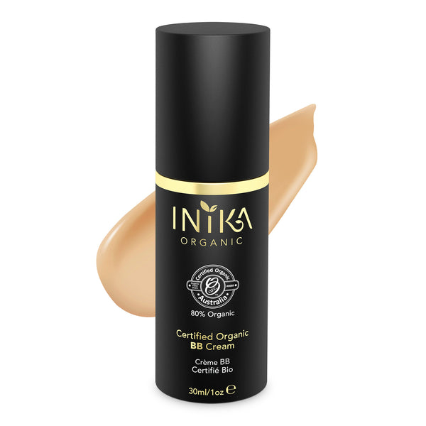 INIKA Certified Organic BB Cream Foundation Tan