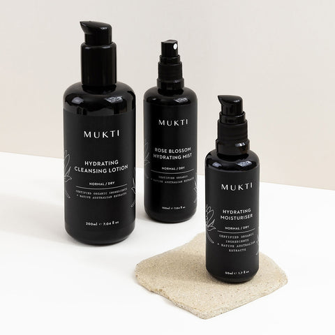Mukti Hydrating Essentials - 3 Step Ritual