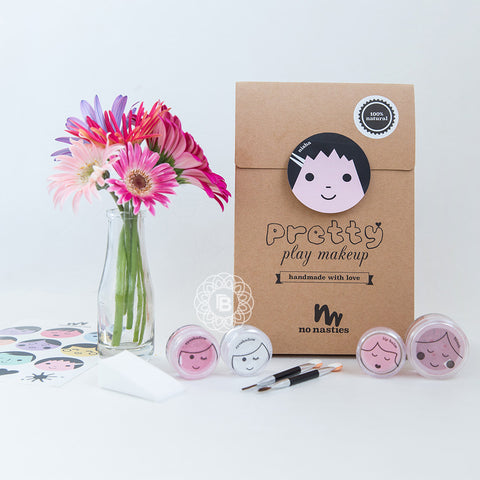 No Nasties Kids Pretty Play Makeup Pack - 3 colours available