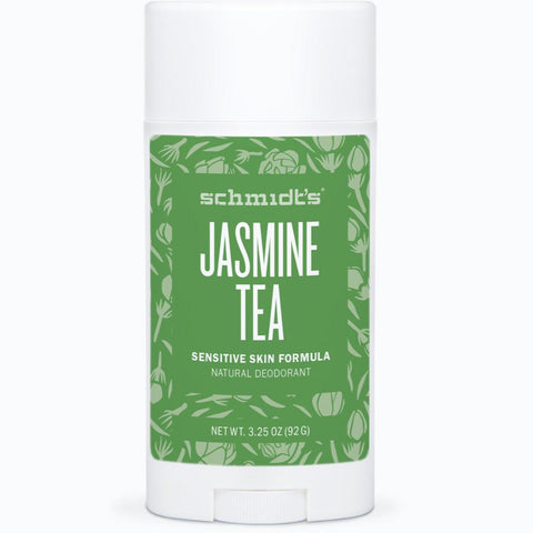 Schmidt's Natural Deodorant Stick for Sensitive Skin - Jasmine Tea