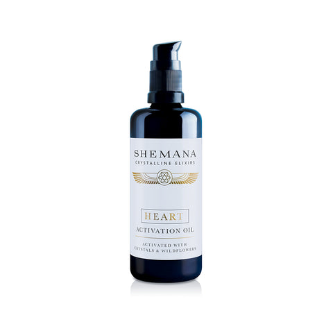 Shemana Crystalline Elixirs Heart Activation Oil