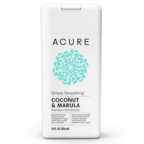 Acure Simply Smoothing Shampoo - Coconut 354ml