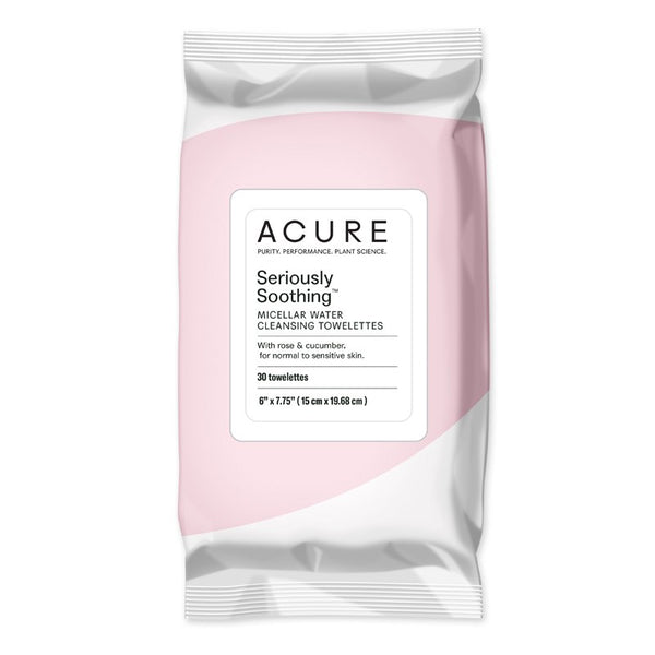 Acure Seriously Soothing Micellar Water Towelettes x30