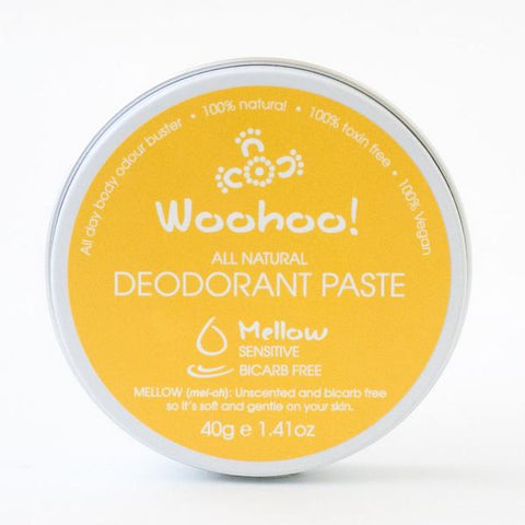 Woohoo Body Natural Deodrant Paste - Mellow