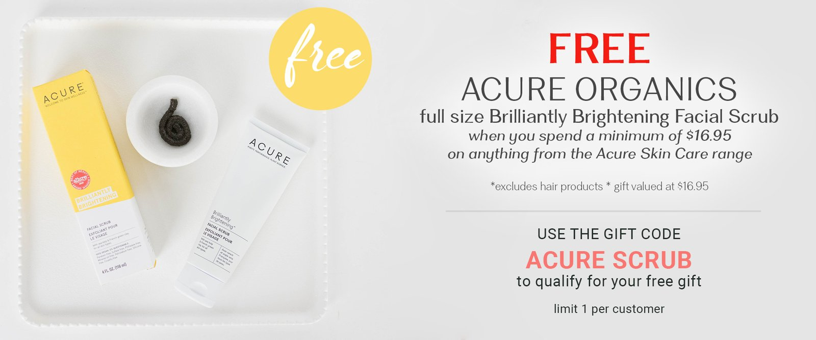 Acure Gift With Purchase